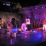 La Krwazé Avec Eric Triton Festival Arts Métis 2003 . photo J. C Cardona JPG