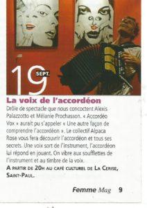 femme mag la voix de l'accordéon
